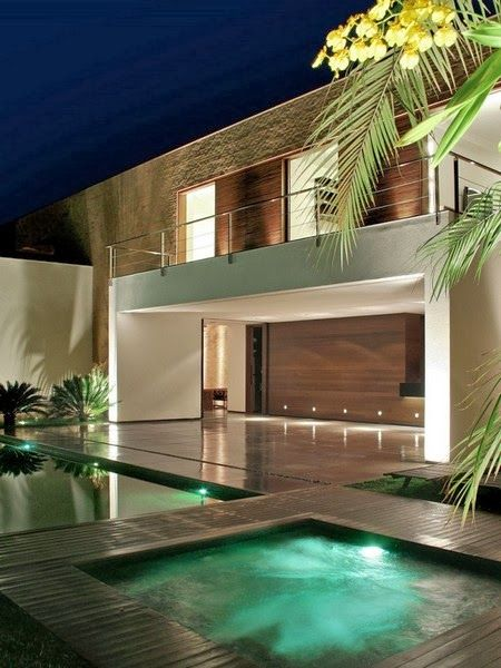Amazing Architecture -SF House by Studio Guilherme Torres.  Such clean lines.