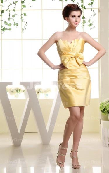 yellow mini dress uk