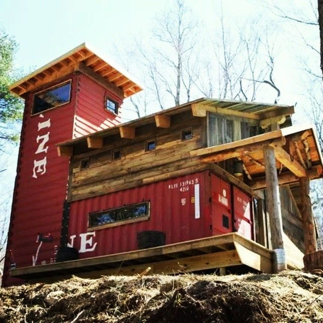 Best Container Images On Pinterest Architecture Shipping - All terrain cabin shipping container homes