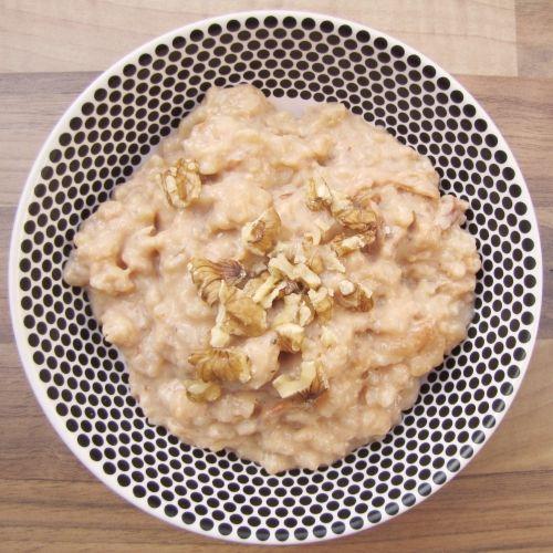 Reispudding aus dem Ofen mit Karamell-Milch, nicht nur für Kranke
