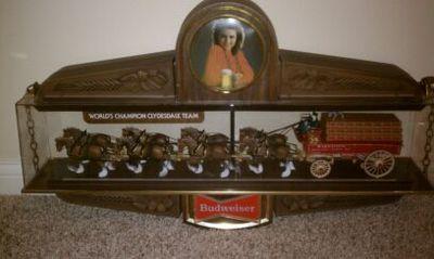 Vintage Budweiser Clydesdale Light Ebay Dream Home