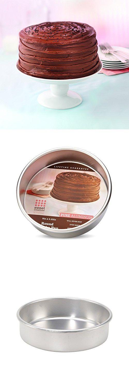 Sweet Creations 4825 Pure Aluminum Round Cake Pan