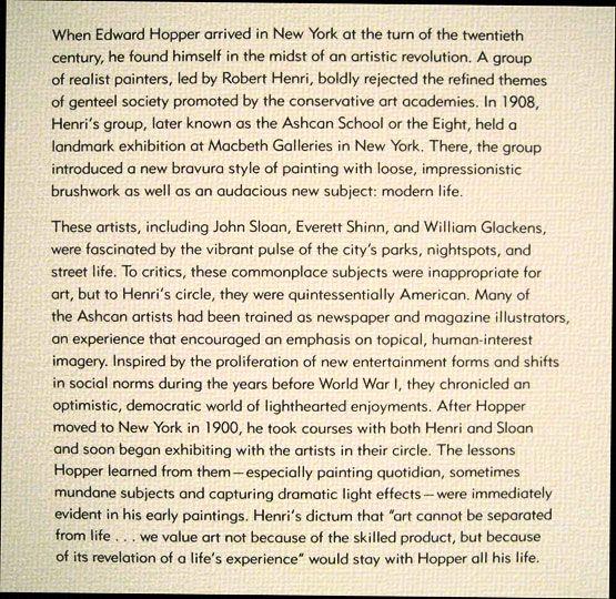 Jill Krementz covers Edward Hopper at the Whitney