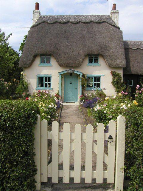 Honington: Rose Cottage by John Brightley on Geograph (near to Honington, Warwickshire, Great Britain)
