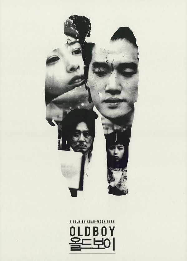 "Oldeuboi [Oldboy] - Chan-wook Park 2003 - DVD05713 -- ""After being kidnapped and imprisoned for 15 years, Oh Dae-Su is released, only to find that he must find his captor in 5 days."""