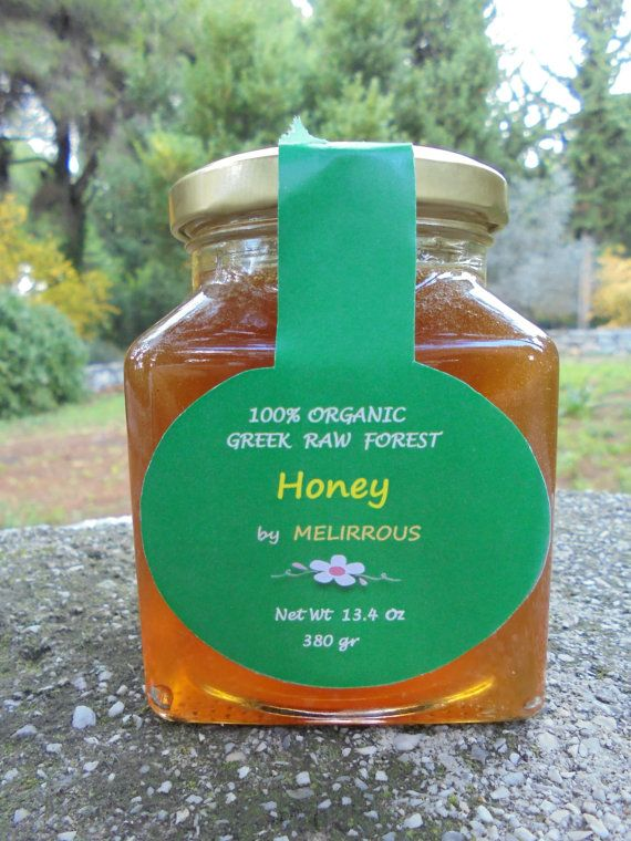 Greek  Forest Honey RawUnfilteredUnheated from by MelirrousBees