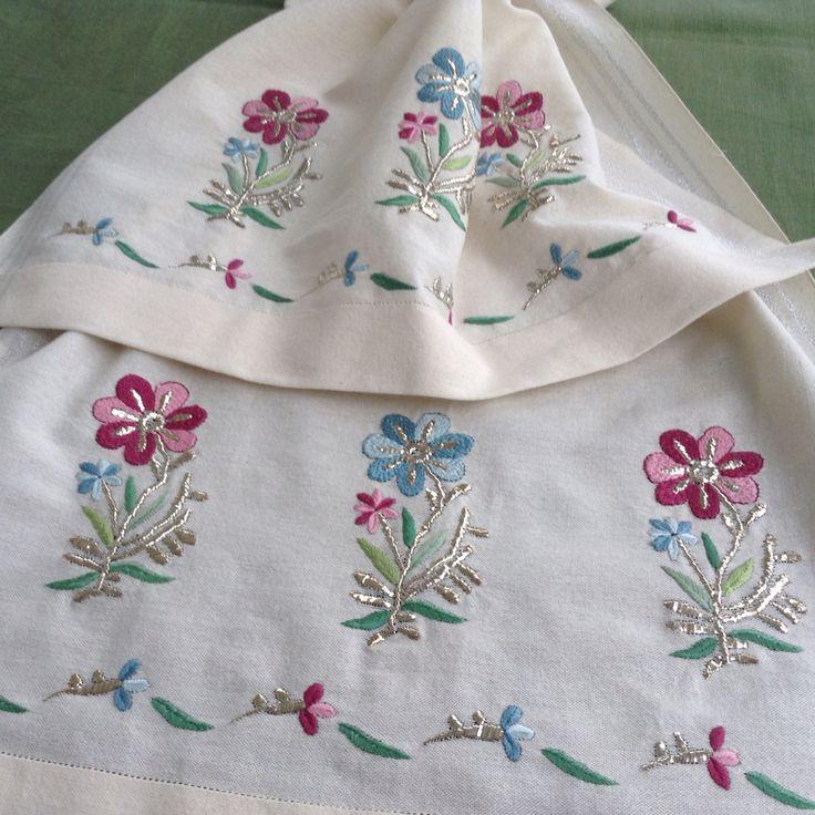 Türkişi, tel sarma ile birlikte- Handmade