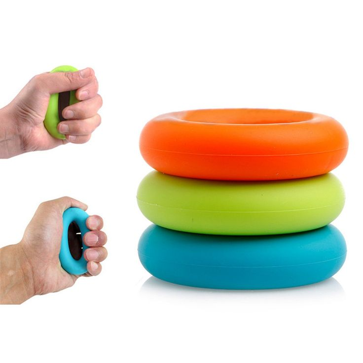 Strength Hand 30-50lb Grip Ring 1Pc Muscle Power Training Rubber Ring Exercise