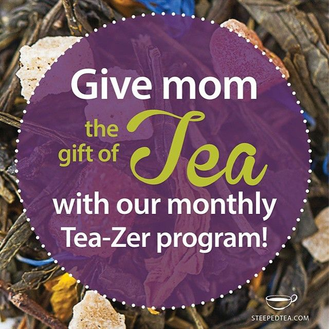 Another gift idea for #Mothers Day! Contact your Consultant for details #gifts #steepedtea http://www.steepedtea.com