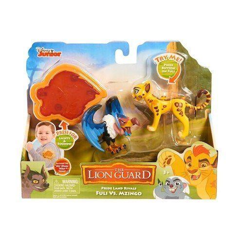 Disney Junior The Lion Guard Pride Land Rivals - Fuli Vs. Mzingo #Disney