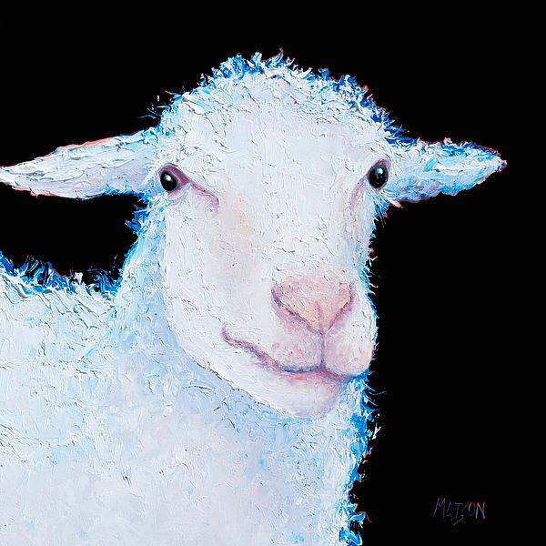 Sheep painting   #frenchcountrykitchen #kitchenart #countrykitchendecor #kitchendecor