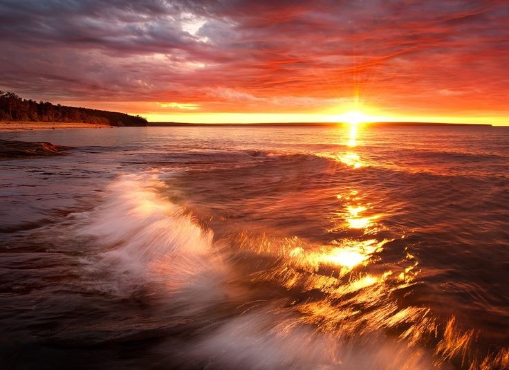 Photograph Miner's Beach Starburst Sunset by Steve Perry on 500px
