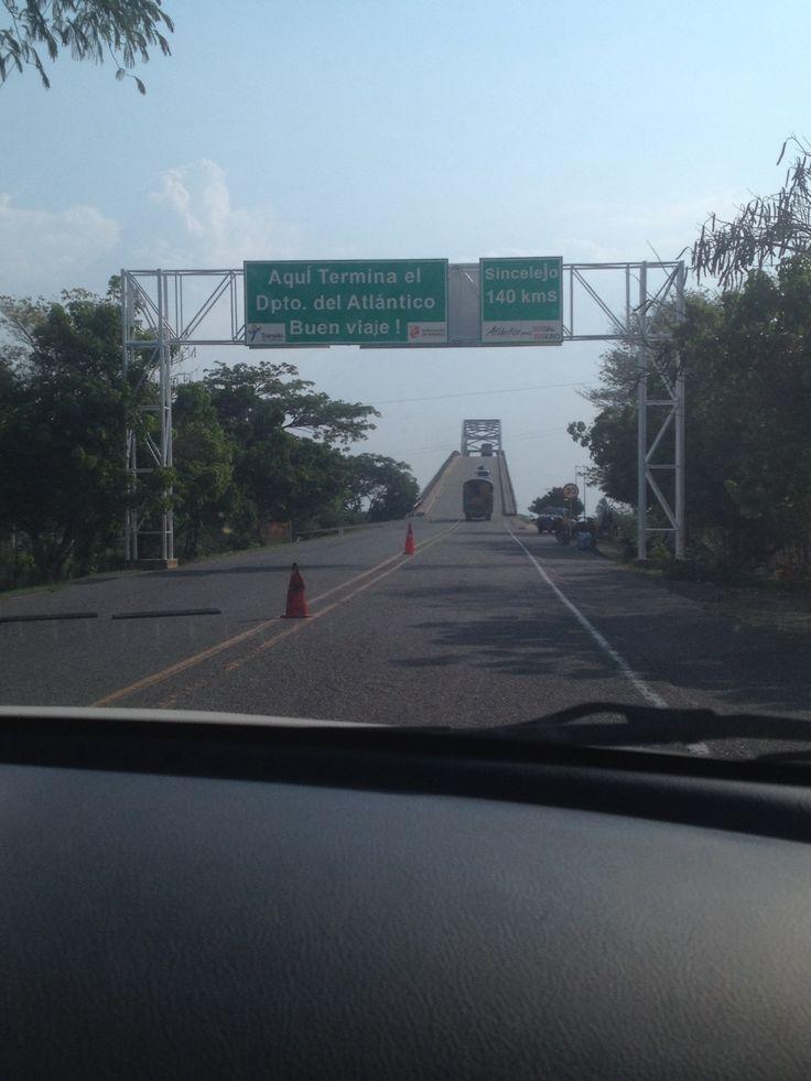 Puente canal del dique