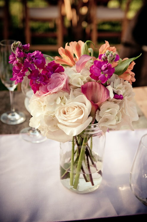 Mason Jars   Flowers By Rebekah