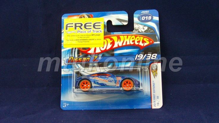HOTWHEELS 2006 FIRST EDITIONS | NISSAN Z | 19/38 | 019-2006 | J3260 | BLUE