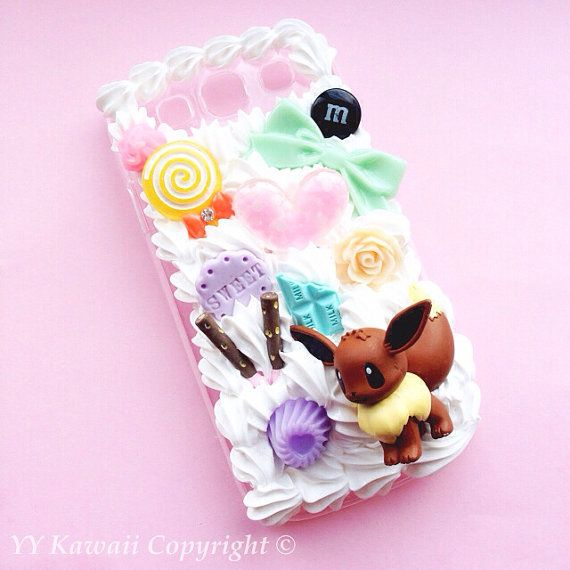 This listing is for a custom Whip Cream decoden phone case with the selected figurine. The case is MADE TO ORDER and can take 2-4 weeks to complete.  On checkout please mention the figurine you would like. All the ones shown in the pictures are available, if you request one that is not in the pictures please contact me FIRST before ordering  This case comes with WHITE WHIP. If youd like to have colored whip, please purchase this listing: https://www.etsy.com/uk/listing/219609196/extra-...