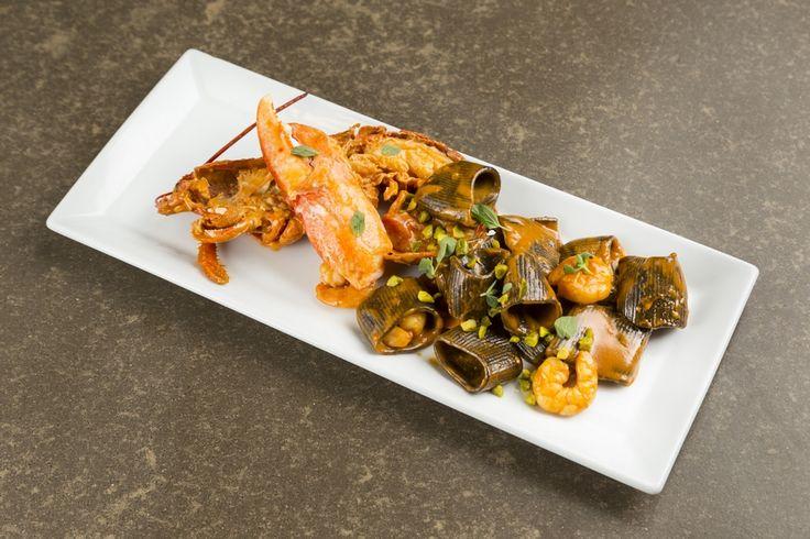 Gustoso piatto fotografato all'interno del ristorante Villa Romanazzi Carducci di Bari