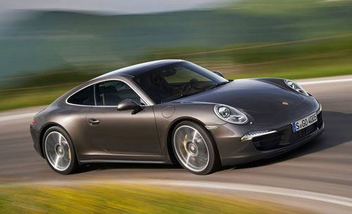 New Porsche 911 Carrera 4 S