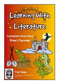 Learning with Literature brings the approaches of Bloom's Taxonomy to three popular recent novels: Howls Moving Castle, Holes, Blueback. The resource uses Blooms revised heirarchy of thinking - remembering, understanding, applying, analysing, evaluating and creating - as a planning approach and provides a range of stimulating exercises based on these contemporary novels.