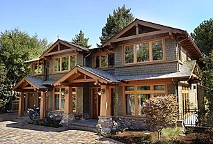 Great Craftsman Exterior of Home