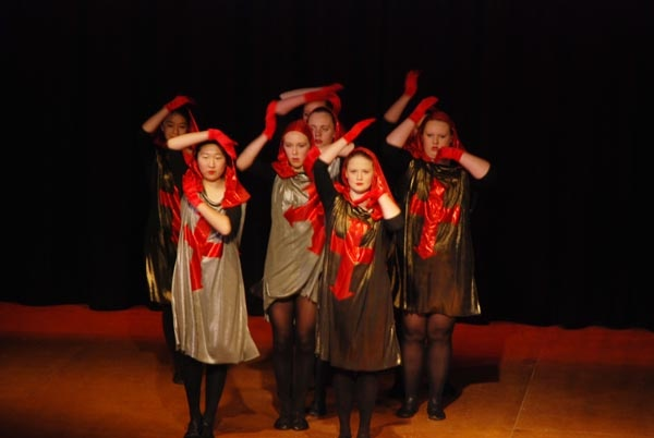 An Evening of Dance 2012. A wonderful showcase of dance combining HSC performances and Eisteddfod pieces