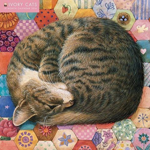 Lesley Anne Ivory's artwork is world renowned and avidly collected. Her beautiful paintings of cats have a unique style, painstakingly depicting the animal