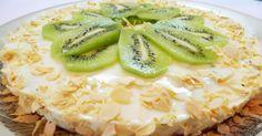 Легкий йогуртовый торт с киви — I Love Hobby — Лучшие мастер-классы со всего мира!