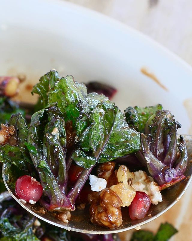 Try this! Warm Kalette Salad. Delicious #recipe on my website today. Link in my profile. •••••••••••••••••••••••••••••••••••••••••••••••••#kalettes #superfood #nongmo #food #foodpic #foodblogger #vegetables #glutenfree #healthy #healthyeating #johnnyseeds #kalesprouts #foodphotography #BlogHerFood15 @wholefoods @oceanmistfarms @traderjoesgrocery  @melissasproduce