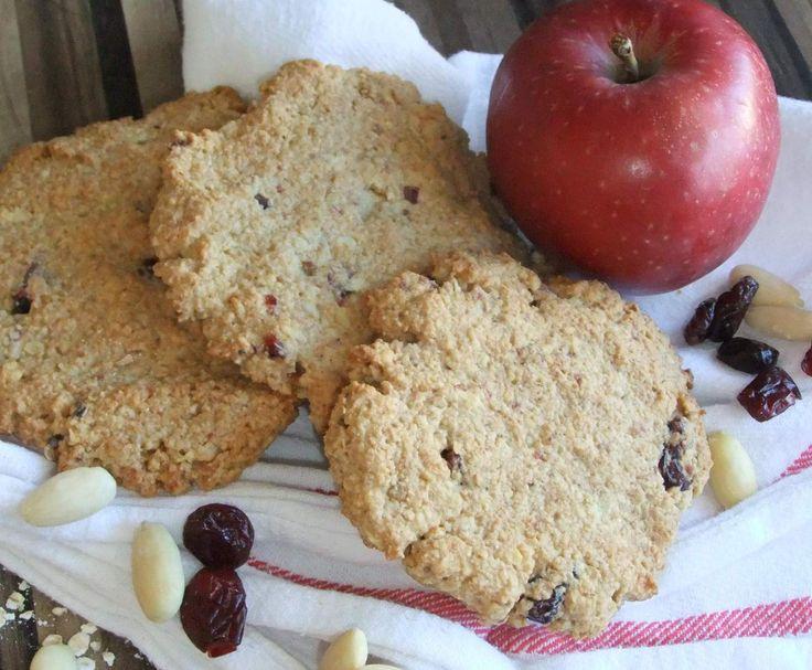 Rezept Vollwert-Frühstücks-Sport-Dinkel-Hafer-Kekse von FrauBeckerin - Rezept der Kategorie Backen süß