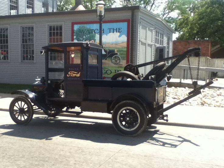Ford Model T tow truck Greenfield Village Dearborn ,Mi.