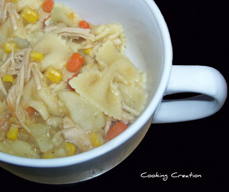 Pennsylvania Dutch Turkey Pot Pie Soup | In The Kitchen | Pinterest