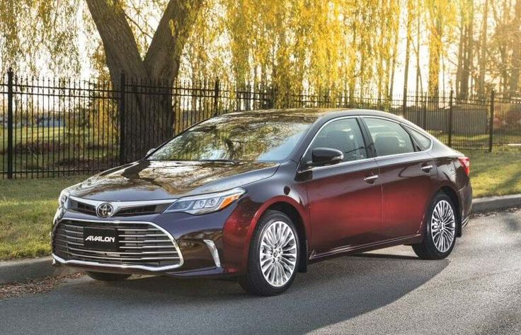 2018 Toyota Avalon overview