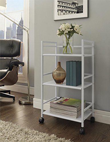 http://www.phomz.com/category/Utility-Cart/ Rolling Utility Cart 3 Tier Wheels Kitchen Storage Organizer Home Room Laundry