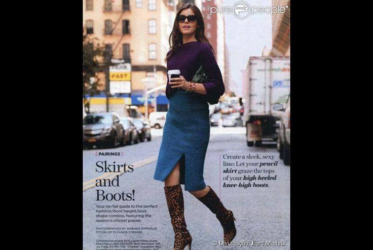 Camila Queiroz, de 'Verdades Secretas', já posou para várias campanhas de moda. Ela é agenciada pela conceituada agência Ford Models