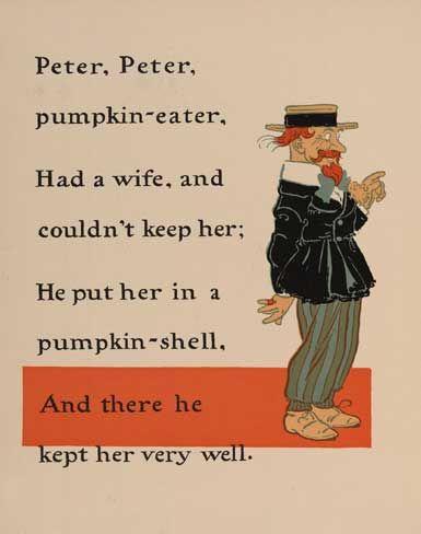 Beth's Music Notes: Peter Peter Pumpkin Eater