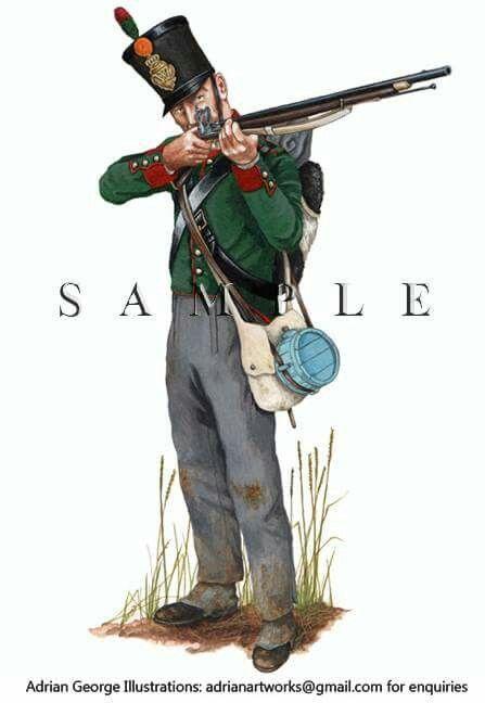 Dutch 27th Jager, Waterloo 1815.