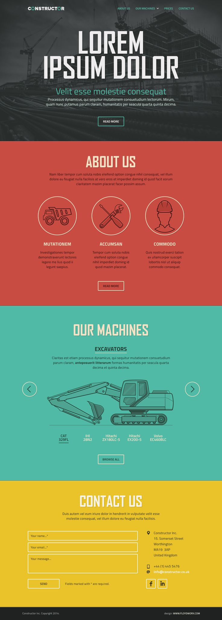 27 best Homepage Inspiration images on Pinterest | User interface ...