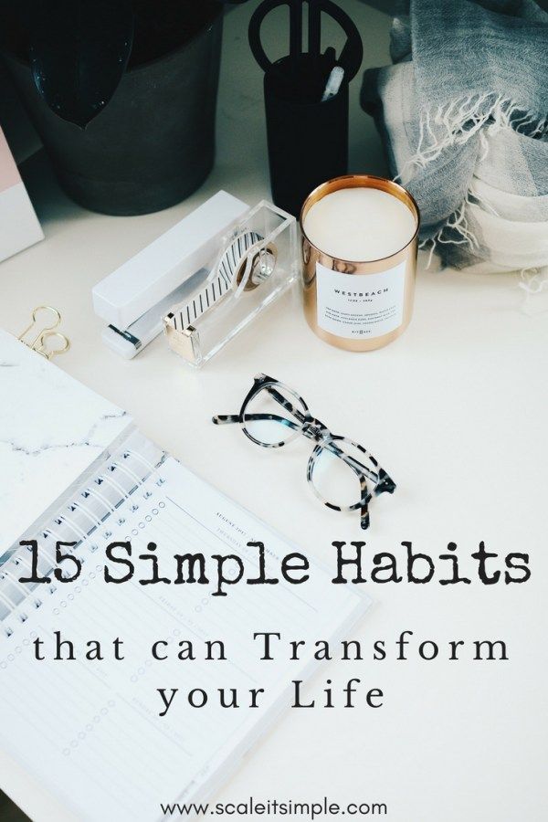 Simple habits that can transform your life help you become more successful, happy and abundant. these habits are simple and will lead you to reach goals that you are aiming for and motivate you to become the person you want to be.
