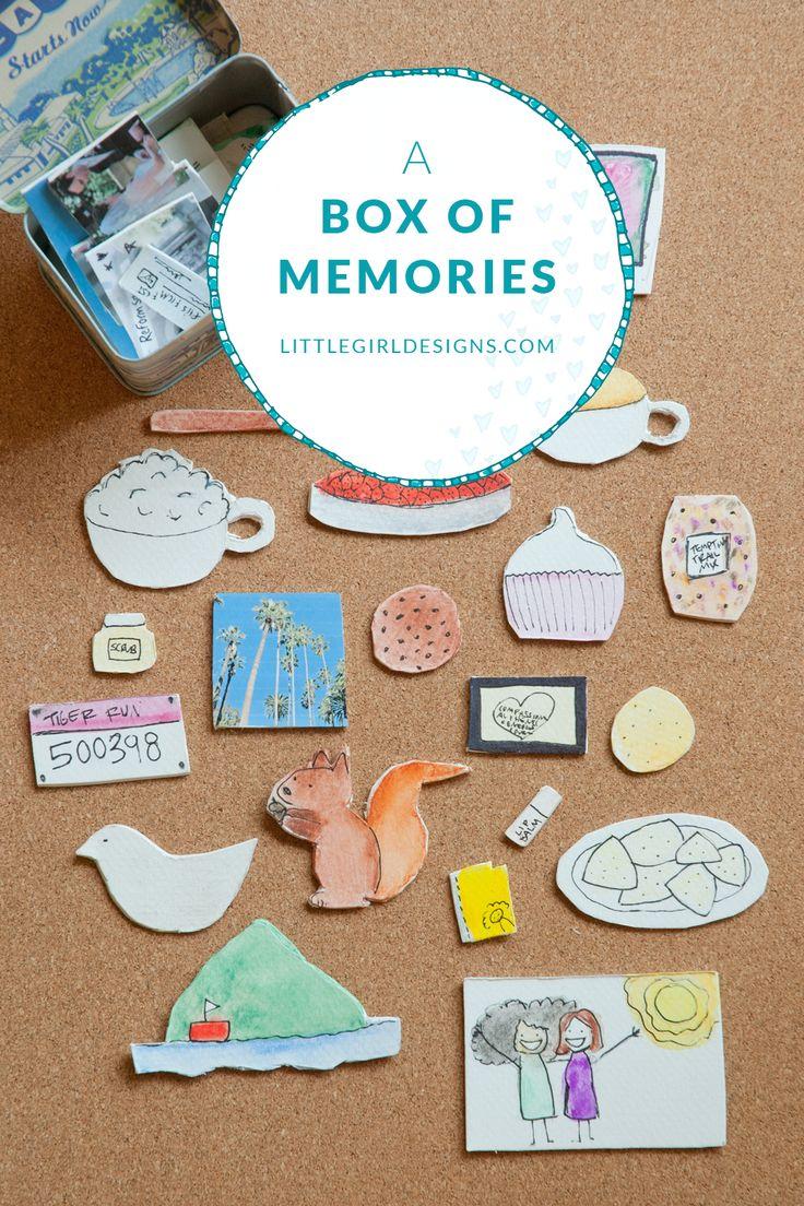 A box of memories jennie moraitis goodbye gifts diy