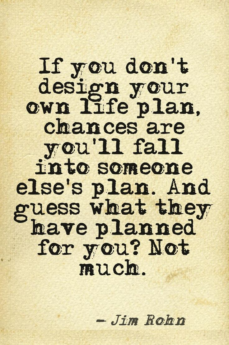 I knew plans are a good idea! Quote. Words to live by