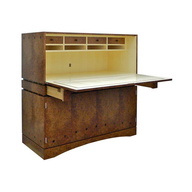 Drop Front Desk by Anton Gerner - bespoke contemporary furniture melbourne