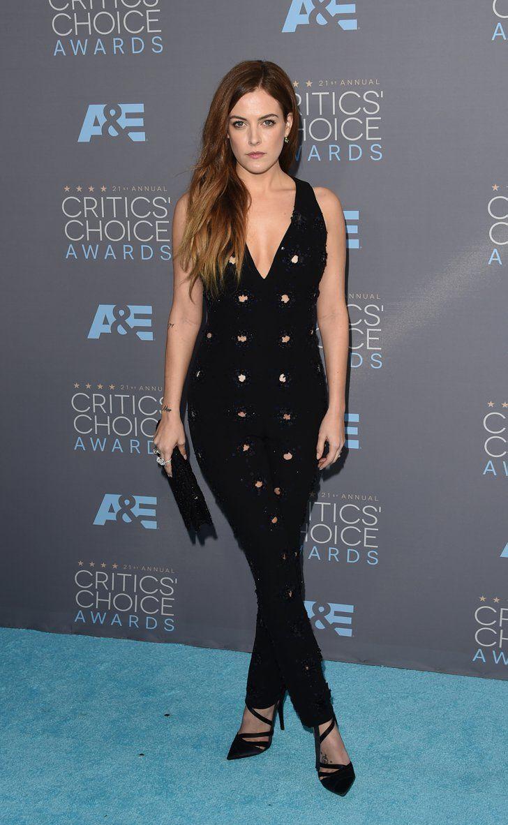 Pin for Later: Ne Manquez Pas un Seul des Looks Vus aux Critics' Choice Awards Riley Keough