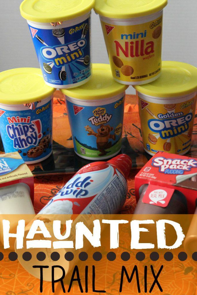 haunted trail mix halloween foods halloween party ideassnack recipesfood