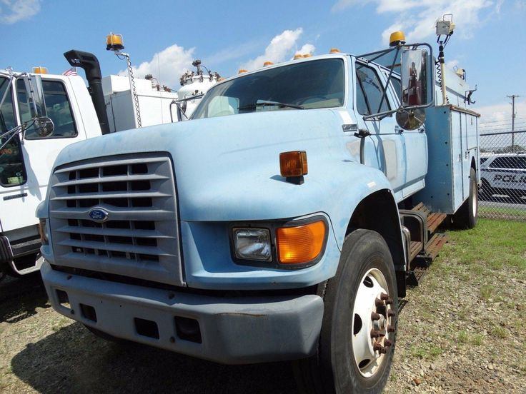 awesome 1997 FORD F800 UTILITY TRUCK - eight.3L 6 CYL - 35476 Check more at https://aeoffers.com/product/automotive-vehicles-online/1997-ford-f800-utility-truck-eight-3l-6-cyl-35476/