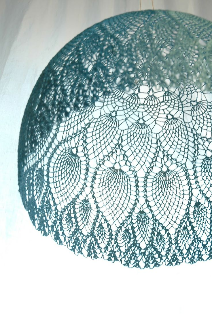 Wow! The website has a dozen or so of these amazing lampshades.