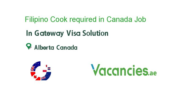 Filipino cook required in canada new zealand jobs job