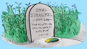 Ding, dong, the Iowa Straw Poll is now dead   Iowa Straw Poll canceled, state Republicans say - CNNPolitics.com