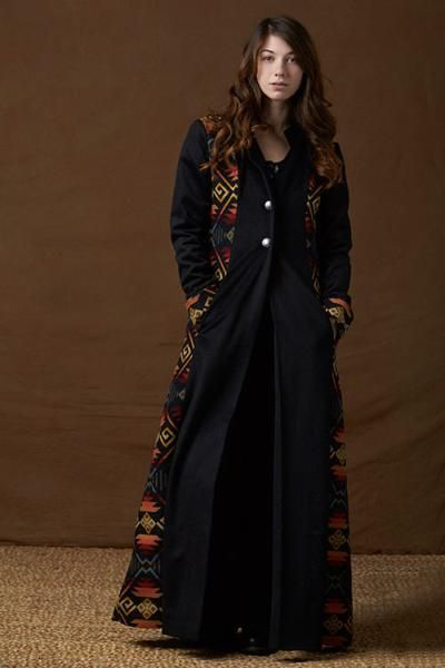 Tailored Southwestern Duster, Coyote Butte_1