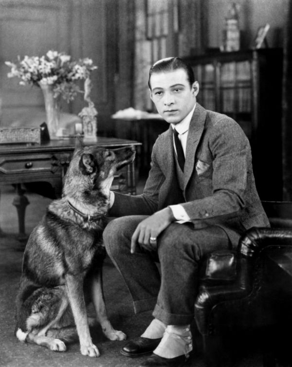 One of the first Hollywood stars, Rudolph Valentino was known for his impeccable style and always being on trend.