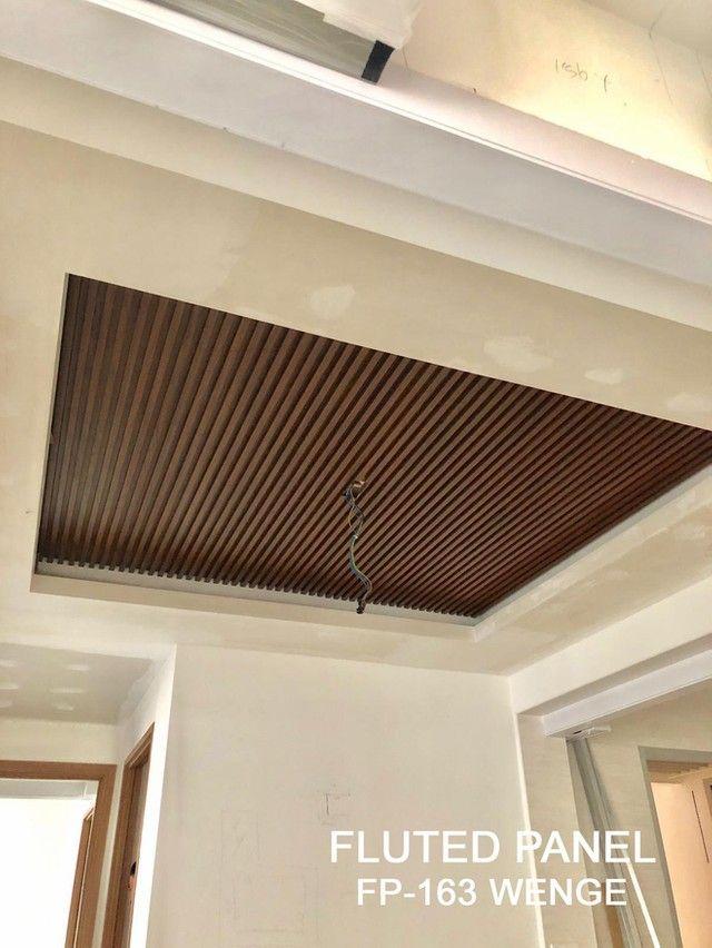 Ceililing Design In Wood Slat Gallery In 2020 Ceiling Design Ceiling Design Bedroom Ceiling Design Modern